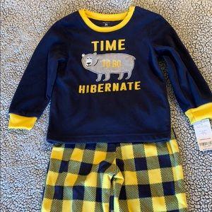 Boy's Fleece Pajama set NWT